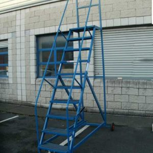 Warehouse Mobile Step Ladder